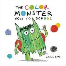 color monster goes to school