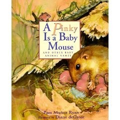 Pinky Is a Baby Mouse and Other Baby Animal Names