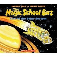 the magic school bus lost in the solar system by joanna cole