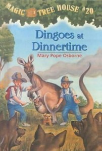 Magic Tree House Series, Book 20: Dingoes at Dinnertime
