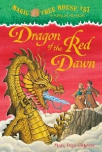 Magic Tree House Series, Book 37: Dragon of the Red Dawn