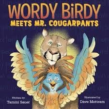 wordy bird meets mr. cougarpants
