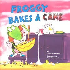 froggy bakes a cake