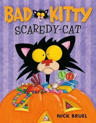 Bad Kitty Scaredy Cat  (Picture book)