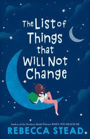 List of Things That Will Not Change    (The List of Things That Will Not Change)