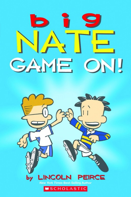 Big Nate Game On Big Nate Book 6 Graphic Novel Series
