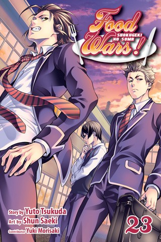 Food Wars!: Shokugeki no Soma, Vol. 23  (Food Wars Vol. 23: He Who Opened A Path Through the Wasteland.)